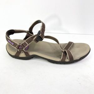 Teva Zirra Strappy water sandals size 7